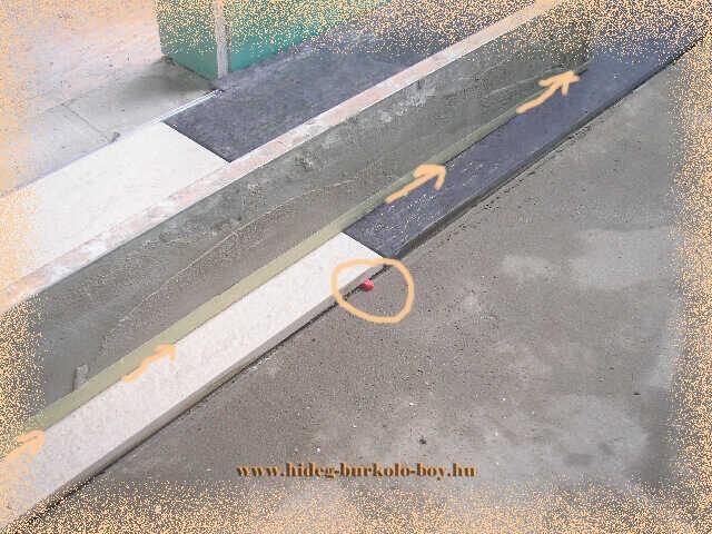 A burkoló lapok aláékelésével elérhető hogy a burkoló lap görbülete kijavítható, így sík burkolás készíthető akár a nappaliban akár a teraszon!