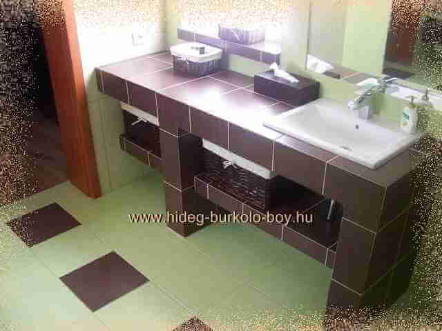 beépített fürdőszoba kád