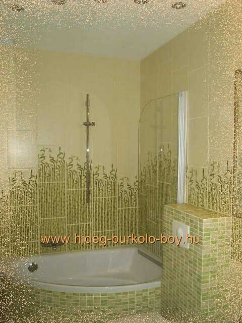 Bambusz fürdőszoba burkolat