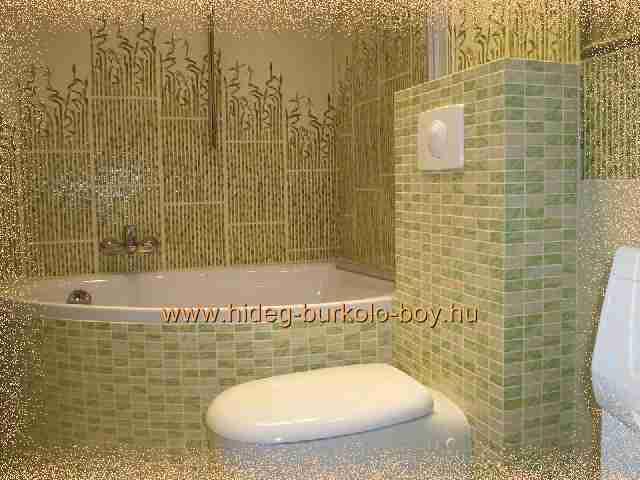 Bambusz fürdőszoba csempe