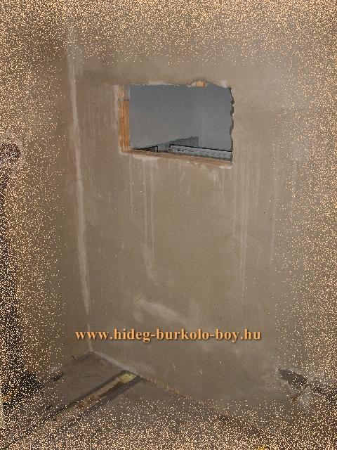 falfülke kivágás 10cm falból
