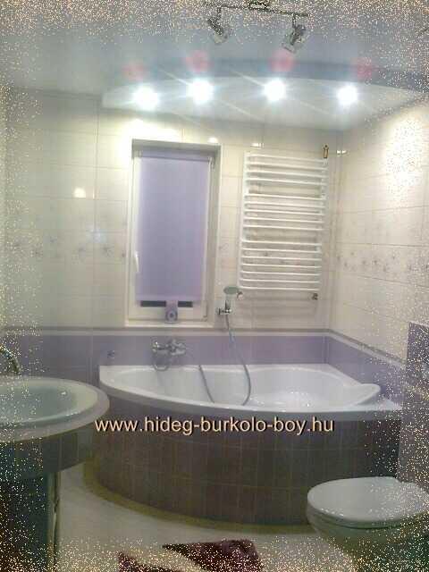 Lila, mályva színű fürdőszoba, mályva és bézs fürdőszobák