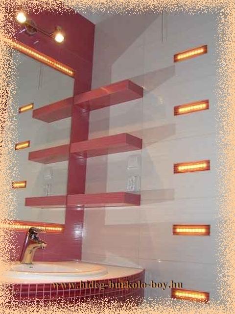 Igényes fürdőszoba felújítás, átalakítás, burkolás, burkoló munkák