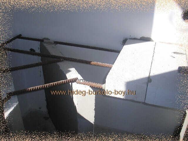 vas erősítés épített konyhabútorban
