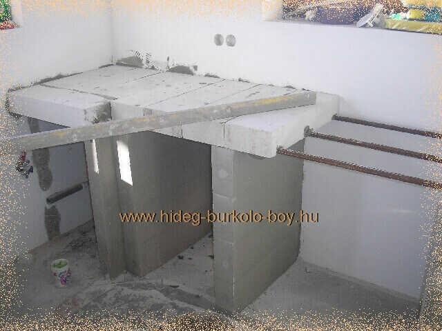 vízszint ellenőrzése konyhabútor építés közben