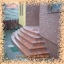 Íves lépcső burkolat