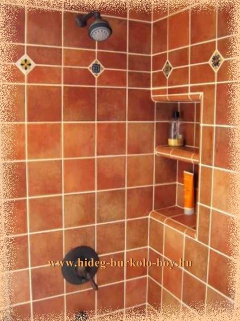 zuhanyzó polc