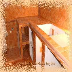 Konyha bútor építés