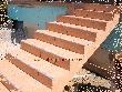 terasz lépcső burkoló munkák