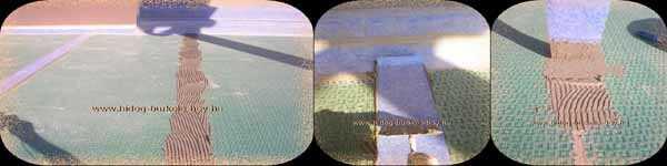 Rétegelvlasztó, burkolatelválasztó lemezek illesztéseinek vízszigetelése