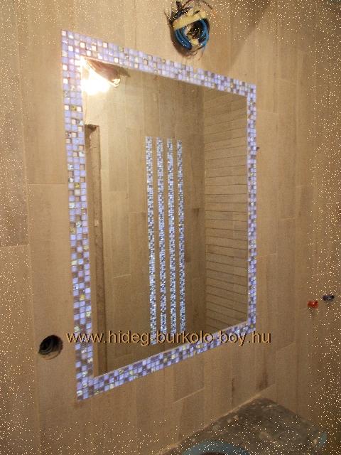 fürdőszoba tűkör világító bordűrrel