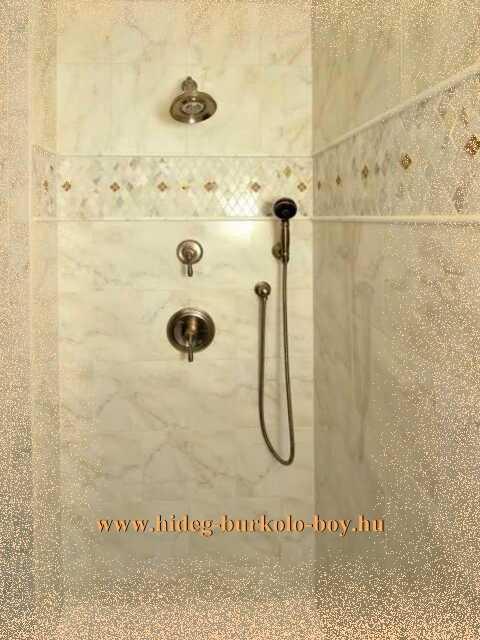 egyszerű épített zuhanyzó