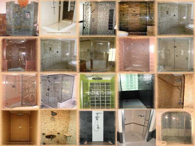 Épített zuhanyzók